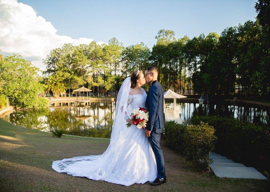 Espaço Lago Esmeralda: Perfeito para quem sonha em casar em meio à natureza com todo conforto e sofisticação