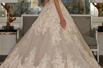 Romona Keveza 2015: Vestidos de novia hechos fantasía para que luzcas divina en tu boda