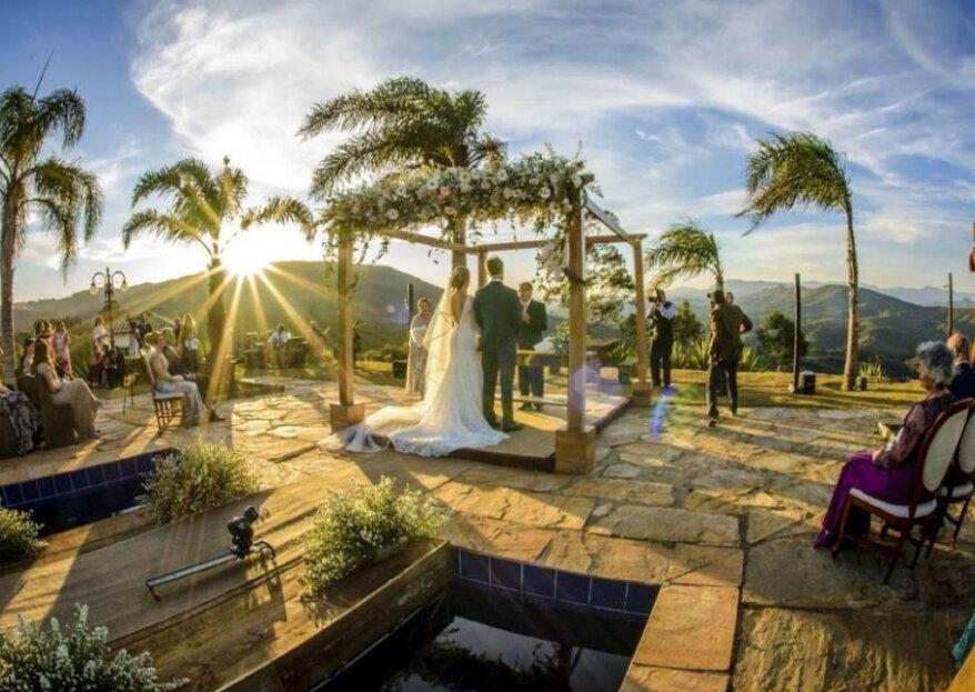 Casamento, noite de núpcias ou escapada romântica? Nestes lugares você poderá vivenciar todos estes momentos!