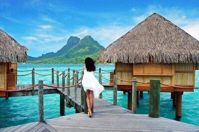Lua de mel de luxo: conheça os principais destinos para noivos que amam muito glamour!