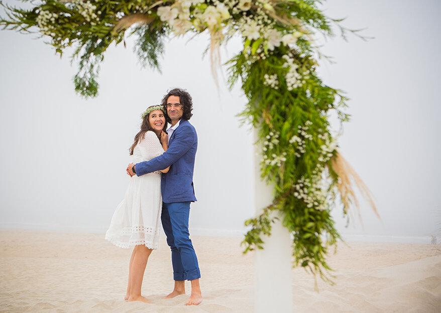 Susana & Paulo: um sonho concretizado à beira mar