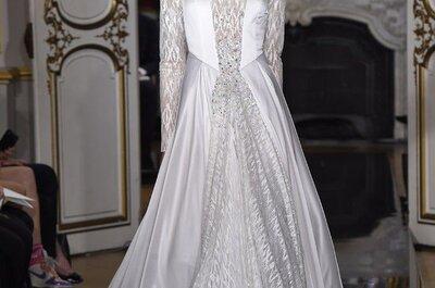 Inspiración en obras de arte: Conoce los más hermosos vestidos de novia de las colecciones alta costura