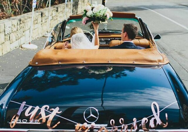 The Different Transport Styles To Suit Your Wedding Theme