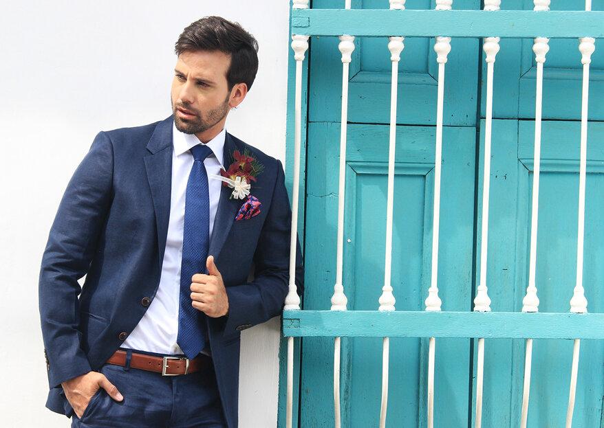 Rafael Cure: trajes de boda para hombres auténticos y sofisticados