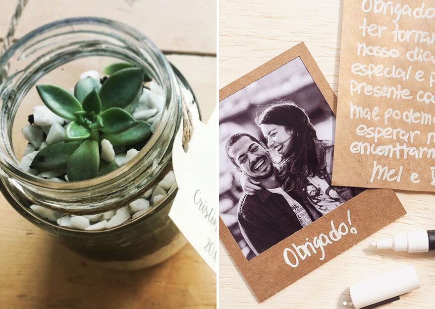 Como escolher as lembrancinhas do meu casamento em 5 passos