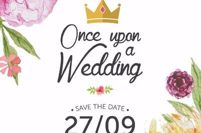 Once upon a wedding, o evento que fará você sonhar com o seu casamento!