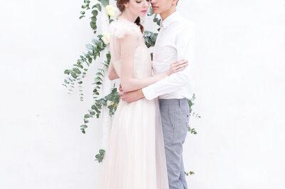Нежная свадебная фотосъемка в пастельных оттенках: естественность и природная красота