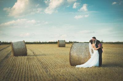 Sommerliche Hochzeit in NRW – So schön war die Feier von Anna & Sebastian!