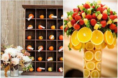 Un sabor delicioso en la decoración de tu boda: Tips para integrar las frutas
