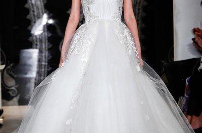 Collezione Reem Acra Bridal 2014: i trend dalle passerelle di New York