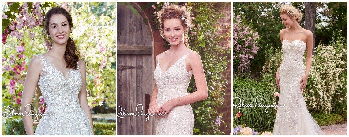 Rebecca Ingram: elegancia y sofisticación al alcance de todas las novias