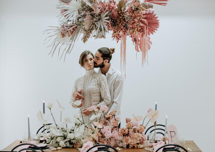 """""""Lockdown wedding"""": cuando el amor no se aplaza"""