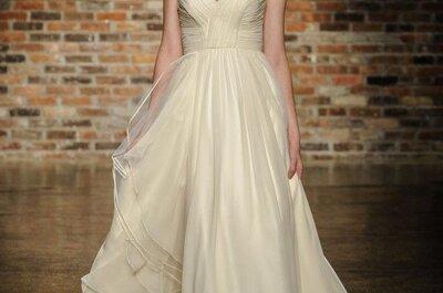 Destellos de un estilo muy chic en tu boda: Vestidos de novia con preciosas joyas incluidas