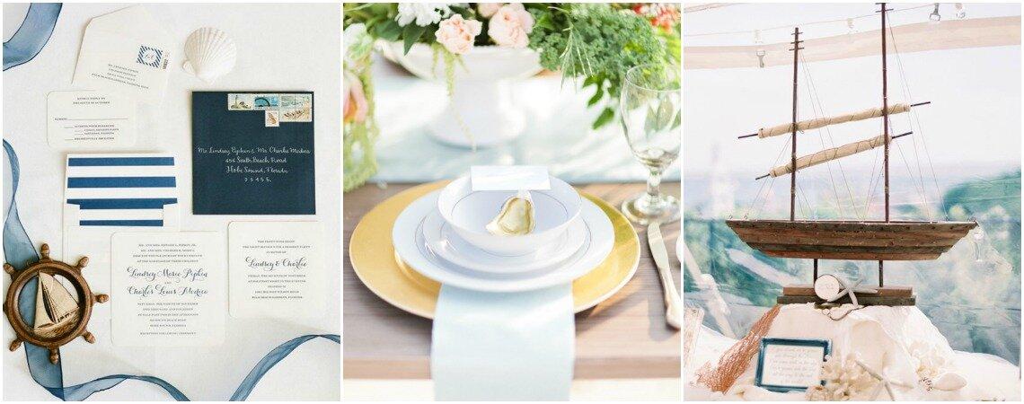 Ahoi, Trends: Unvergessliche Hochzeit mit dieser maritimen Dekoration