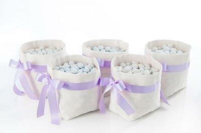 Impazza la favor-mania, con ventagli, bolle di sapone e wedding bag da regalare ai vostri invitati
