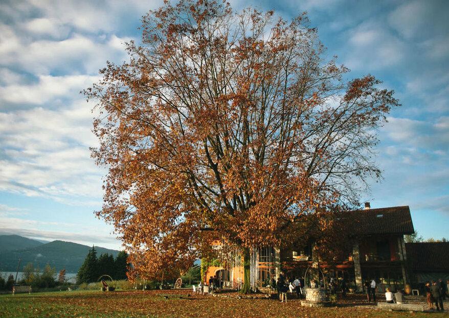 Tenuta Villa Quassa: un'incantevole cornice per le vostre nozze a due passi dal Lago Maggiore