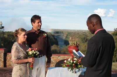 Fall for the Victoria Falls as your perfect destination wedding venue!