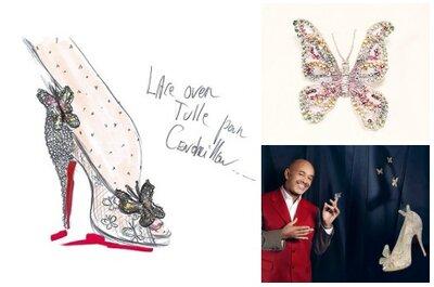 A Cinderela calça Louboutin: prepare-se para conhecer os sapatos de noiva dos seus sonhos