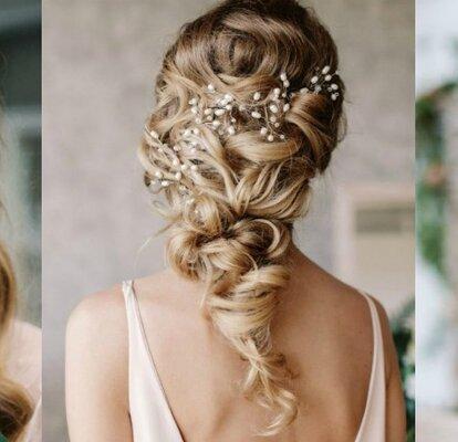 Смотреть свадебные прически для коротких волос