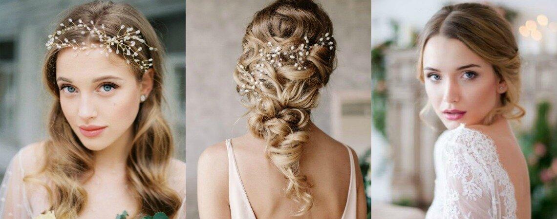 Свадебные прически на волнистые волосы: стильное решение!