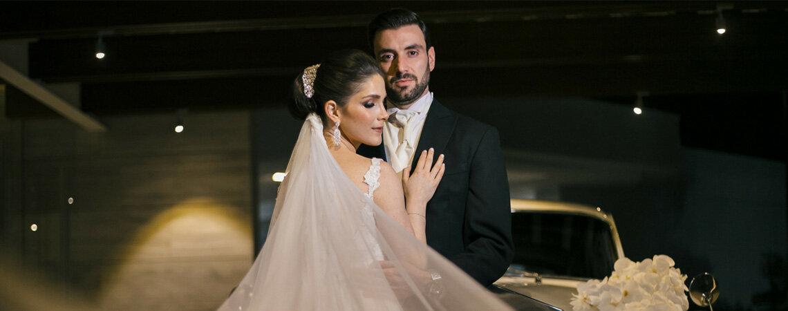 El momento perfecto en el lugar correcto: la boda de Karen y Max