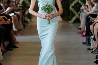 El azul claro es el color de moda para las bodas en 2013