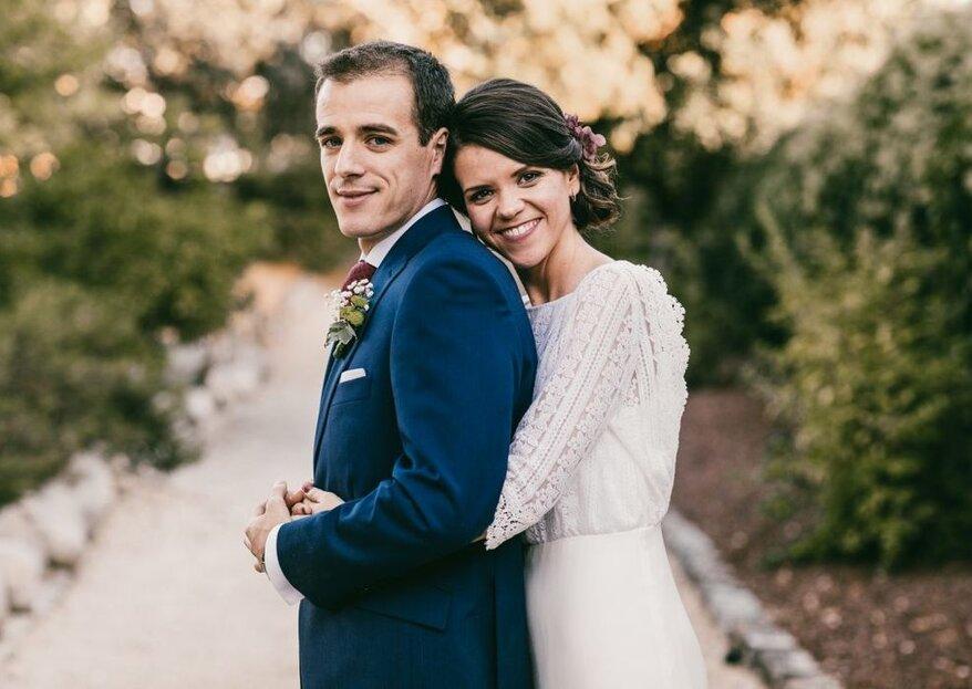 Cómo escoger el vestido de novia para una ceremonia civil en 5 pasos