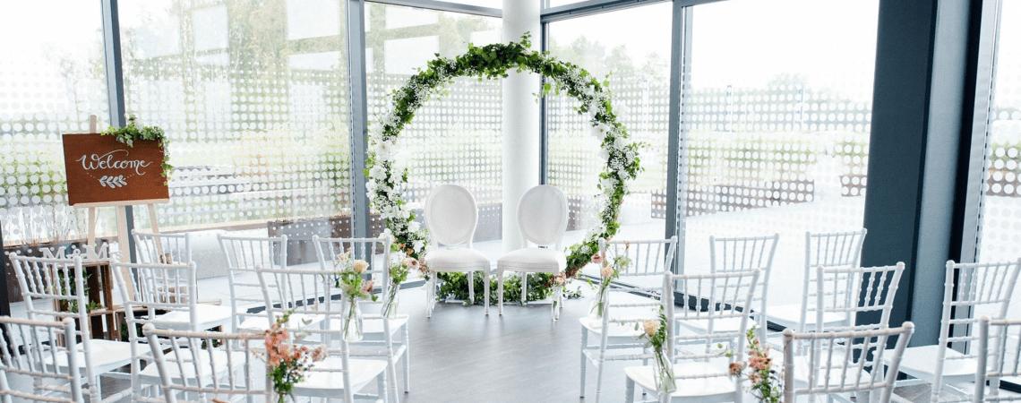 Hier huur je de mooiste decoratie voor jouw bruiloft!