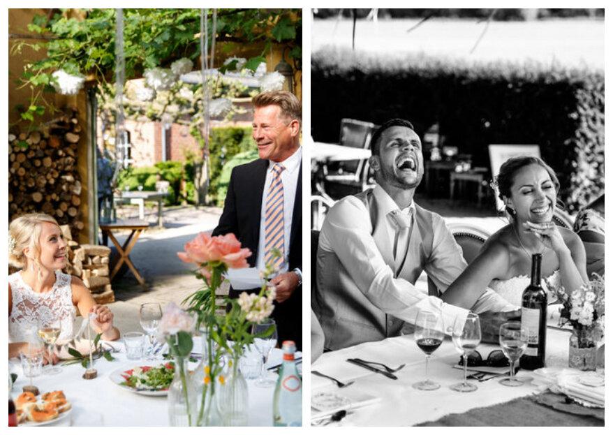 Speechen op de bruiloft: do's and don'ts voor een perfecte toespraak!