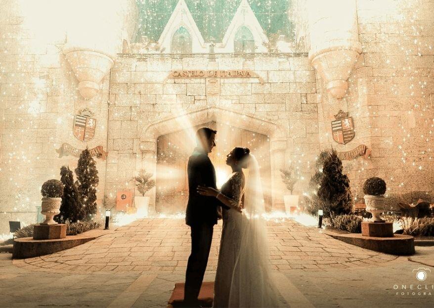 Castelo de Itaipava: onde você encontrará tudo o que necessita para um casamento digno de conto de fadas!