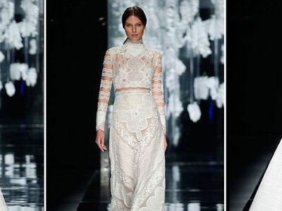 Découvrez les audacieuses robes de mariée Crop Top pour 2016