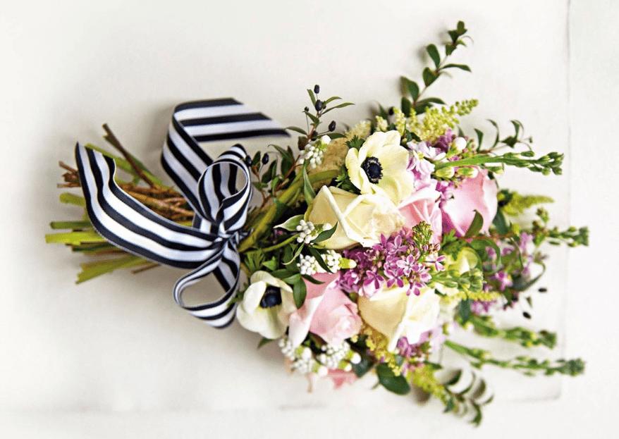 5 tendencias en ramos de novia para boda de primavera