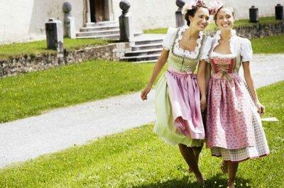 Trachtig heiraten in Salzburg – hier finden Sie das passende Brautkleid!