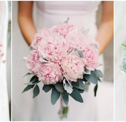 Bouquet Sposa Moderni.Bouquet Da Sposa Sui Toni Del Rosa Romanticismo Moderno
