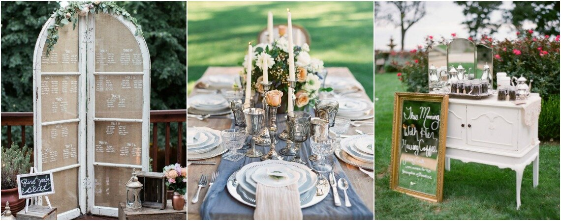 24 Vintage Wedding Ideas: Rustic Decor To Impress Your Guests