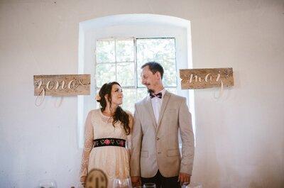 Ślub Julii i Michała był owiany prostotą,  włożonym sercem oraz swobodną i rodzinną atmosferą. Nie przegap!