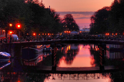 Inoubliable lune de miel à Amsterdam
