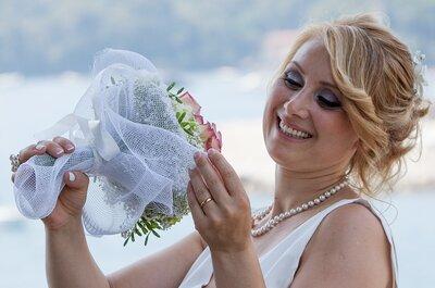 Dieci pettinature semplici ma chic per la sposa: sì, lo voglio!
