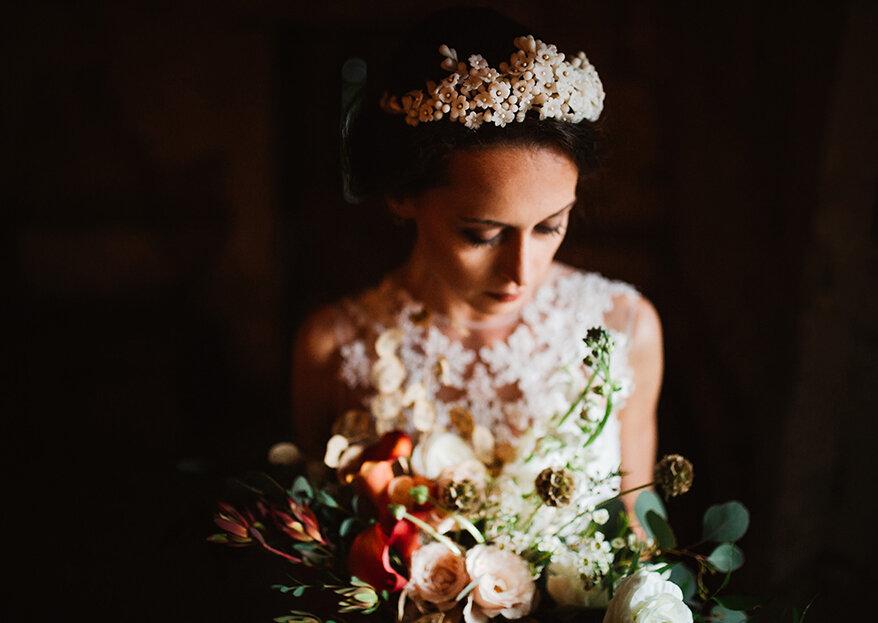 Como escolher os acessórios que mais combinam com o vestido de noiva
