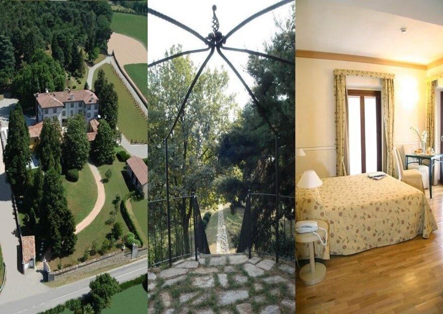 Villa Bregana, cornice settecentesca alle porte di Varese per un matrimonio magico!