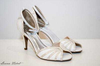 Conforto e elegância: tendências de sapatos para noivas em 2015