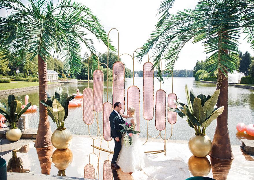 Безудержный Лос-Анджелес: свадьба Виктории и Юрия