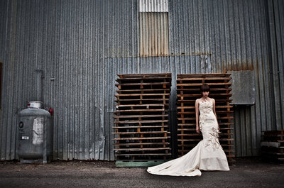 Industrial Chic: 3 Ways to Add Factory Glam to Your Big Day