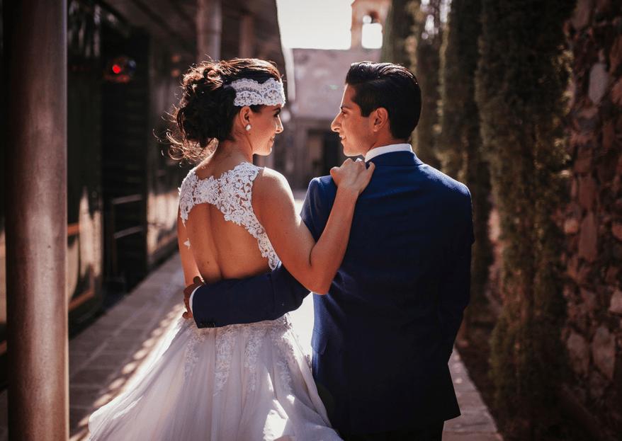 Destinados a ser felices juntos: La boda de Paola y Jorge