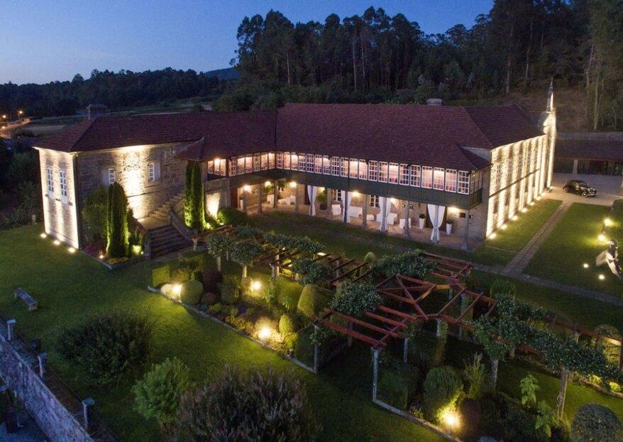 Pazo A Toxeiriña: el lugar de celebración ideal para una boda de película