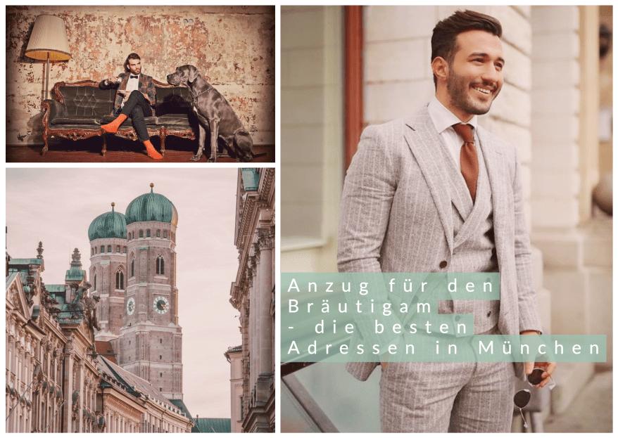 Hochzeitsanzüge für den Bräutigam – die besten Adressen in München & Umgebung