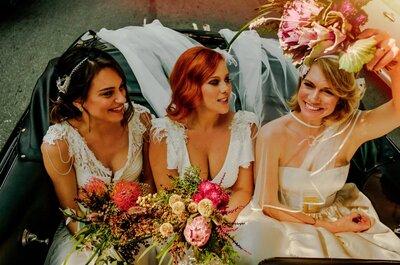 O vestido de noiva perfeito para cada signo: qual é o seu?