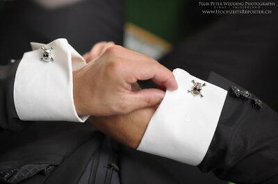 Der Mode-Guide für IHN: So kombinieren Bräutigame den Hochzeitsanzug 2016