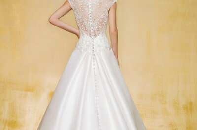 Bruidsjurken van Jasmine Bridal 2015: romantische ontwerpen