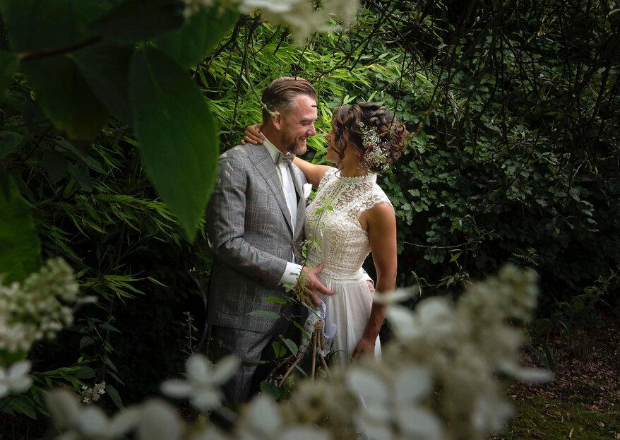 De Real Wedding van Karen & William met Bohemian thema!